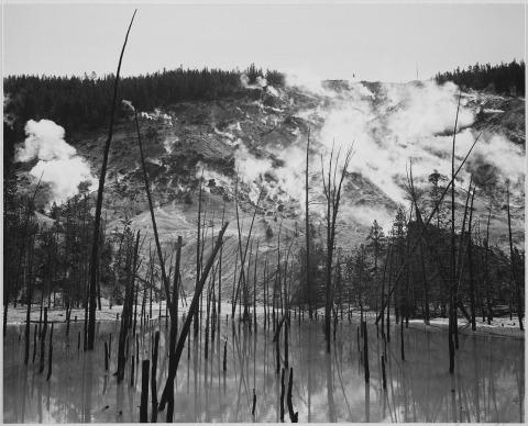 אנסל אדמס, הפארק הלאומי ילוסטון, וויומינג, 1941