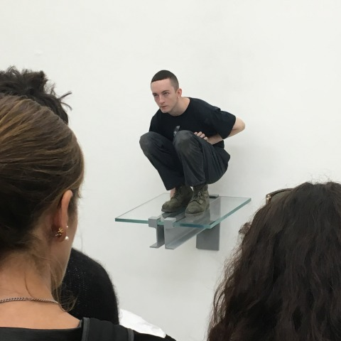 من: آن ايمهوف، فاوست، 2017، الجناح الألماني، بينالي فينيسيا الـ 57