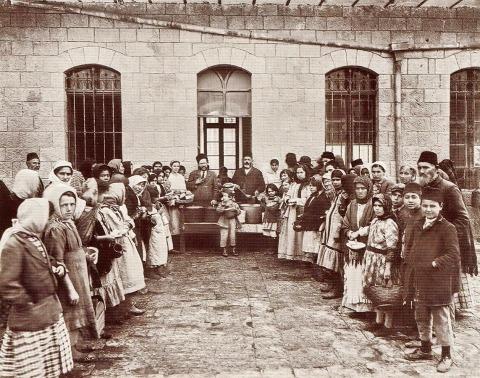צדוק בסן, בית תמחוי, ירושלים, 1920