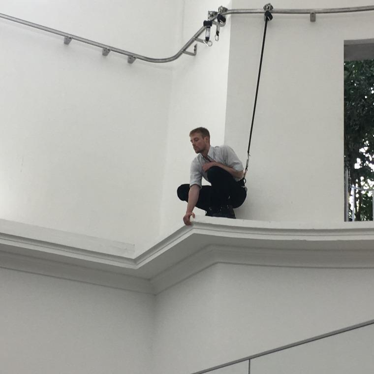 بيلي بولثيل من: آن  إيمهوف، فاوست، 2017، الجناح الألماني، بينالي فينيسيا الـ 57 تصوير: تومر سبير